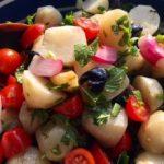 Mediterranean Sunchoke Salad