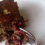 Plum Ginger Cake